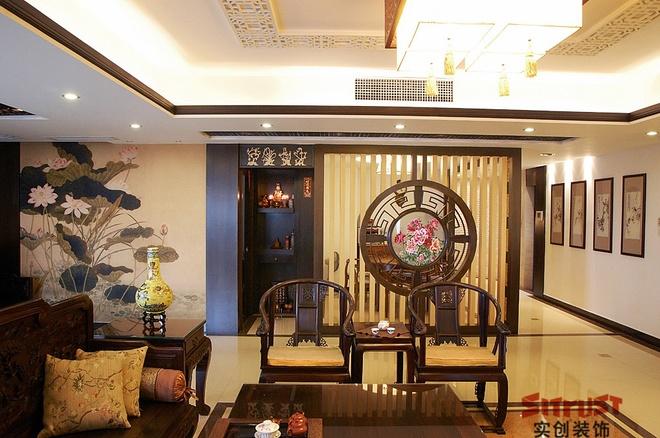 简约 中式 240平米 四居室 客厅 卧室 厨房 餐厅 白领图片来自实创装饰百灵在240平米花园洋房的分享