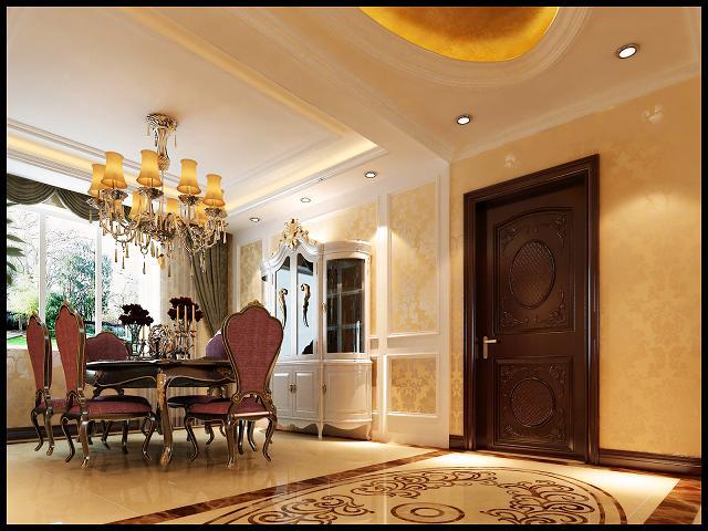 欧式 三居 80后 客厅图片来自呼市装修公司城市人家在欧式风格的分享