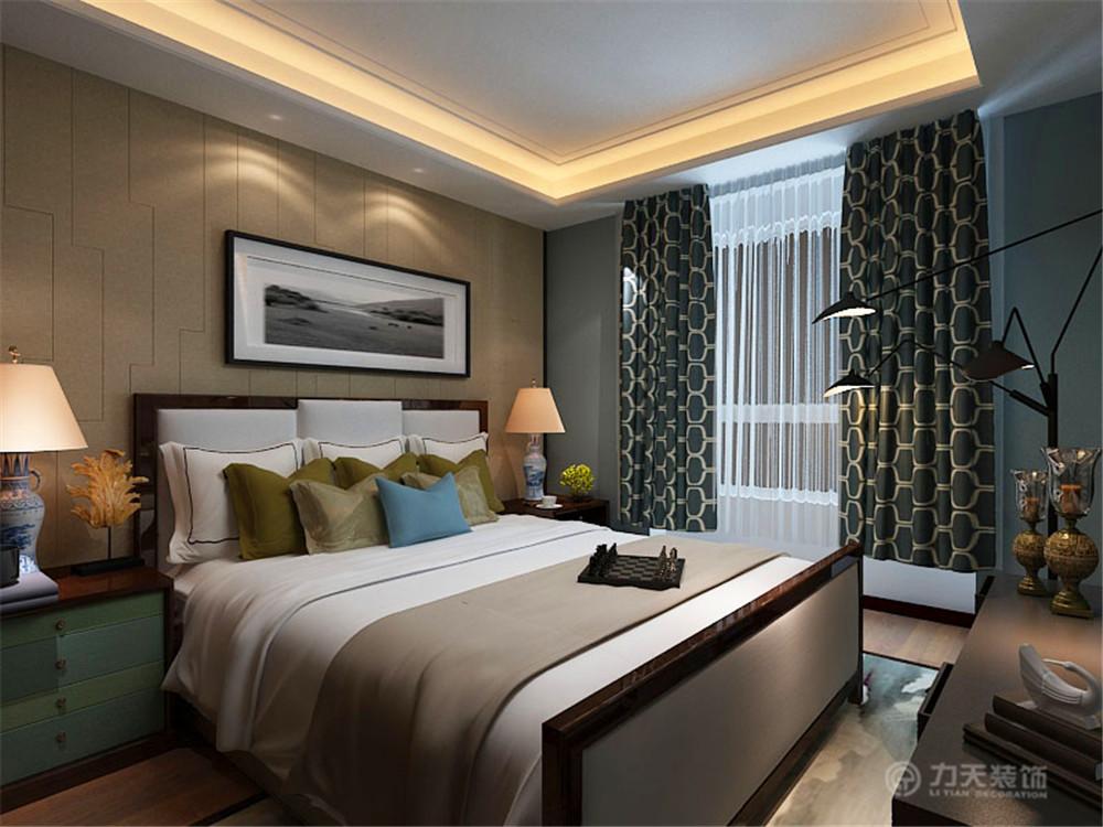 二居 白领 收纳 80后 小资 中式 卧室图片来自阳光力天装饰梦想家更爱家在弘泽城2室2厅87.79㎡新中式的分享