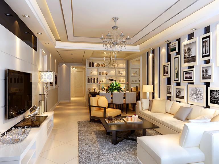 欧式 二居 客厅图片来自亚光亚神设手富成在欧式风格装修美图让您爱不释手的分享