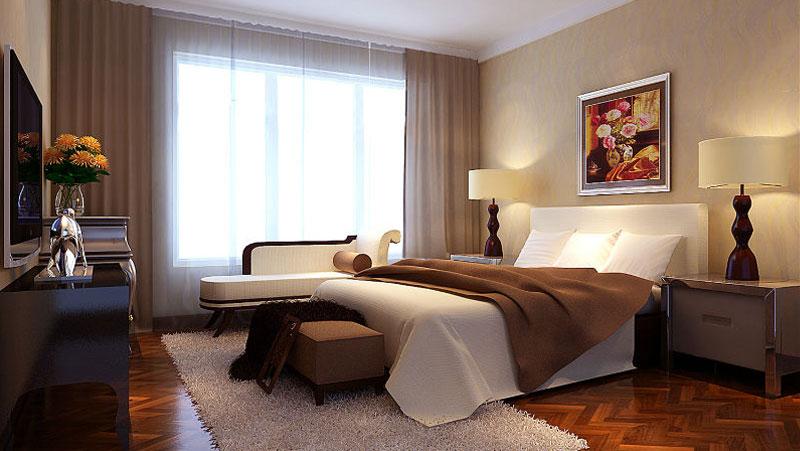 三居室 简约中式 高度国际 装饰设计 高度希文 卧室图片来自高度国际装饰宋增会在8万打造三居室的分享