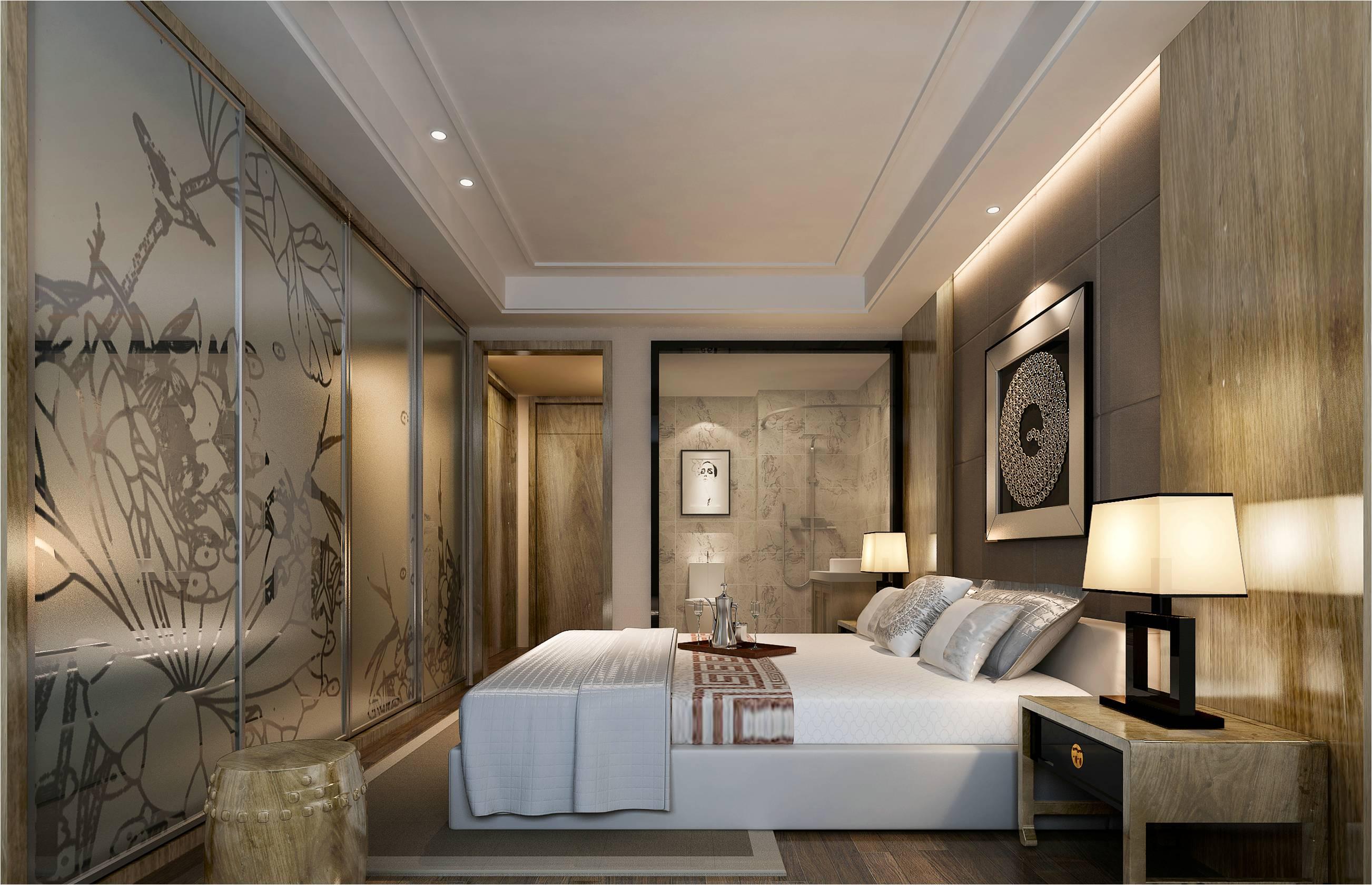 简约 现代 国安居 装饰 设计 卧室图片来自国安居装饰在方直君御--现代简约的分享