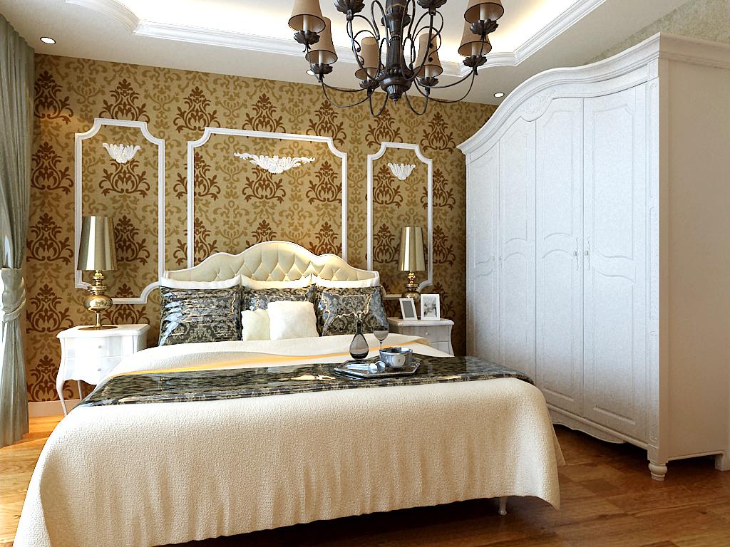 简约 欧式 三居 恒盛波尔多 今朝装饰 卧室图片来自今朝装饰小郭在恒盛波尔多小镇欧式风格的分享