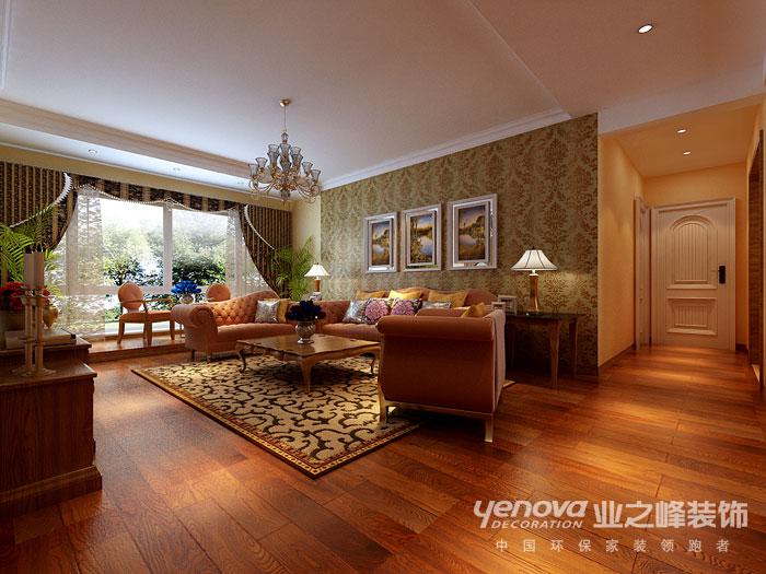 武汉业之峰 新房装修 客厅图片来自猫咪爱吃鱼在美式田园——舒适,自然格调的分享