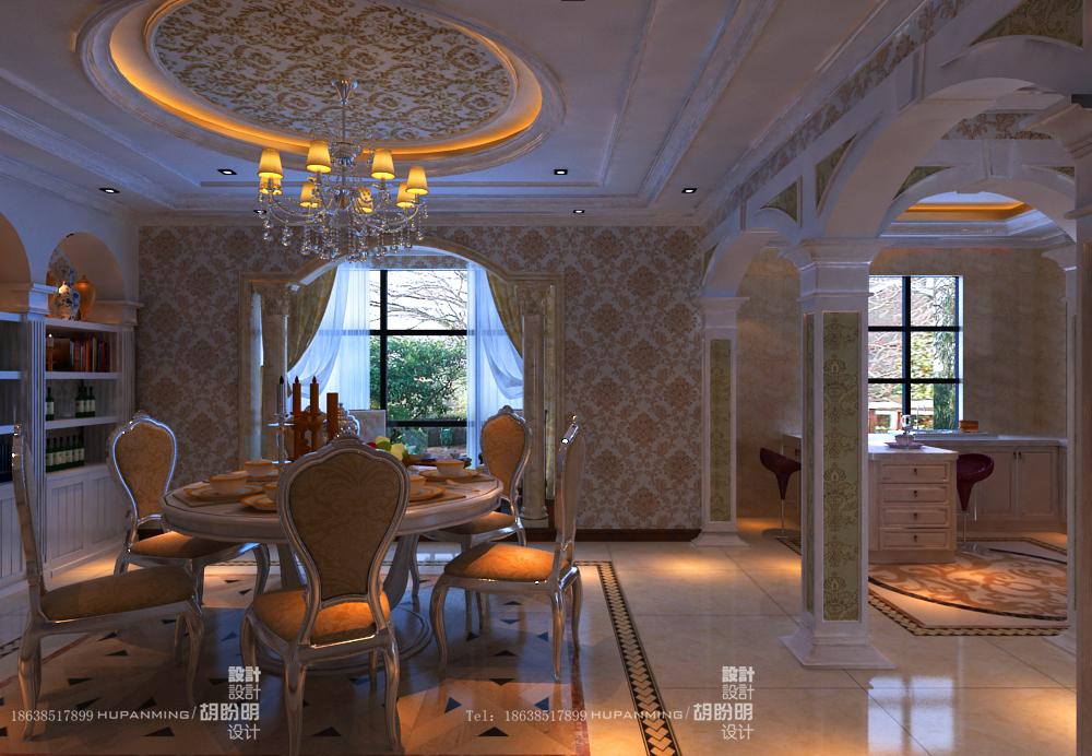 清水苑 复式 欧式 业之峰装饰 效果图 餐厅图片来自文金春在清水苑装修效果图高贵典范的分享