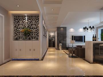 逸品香山三室两厅现代风格装修