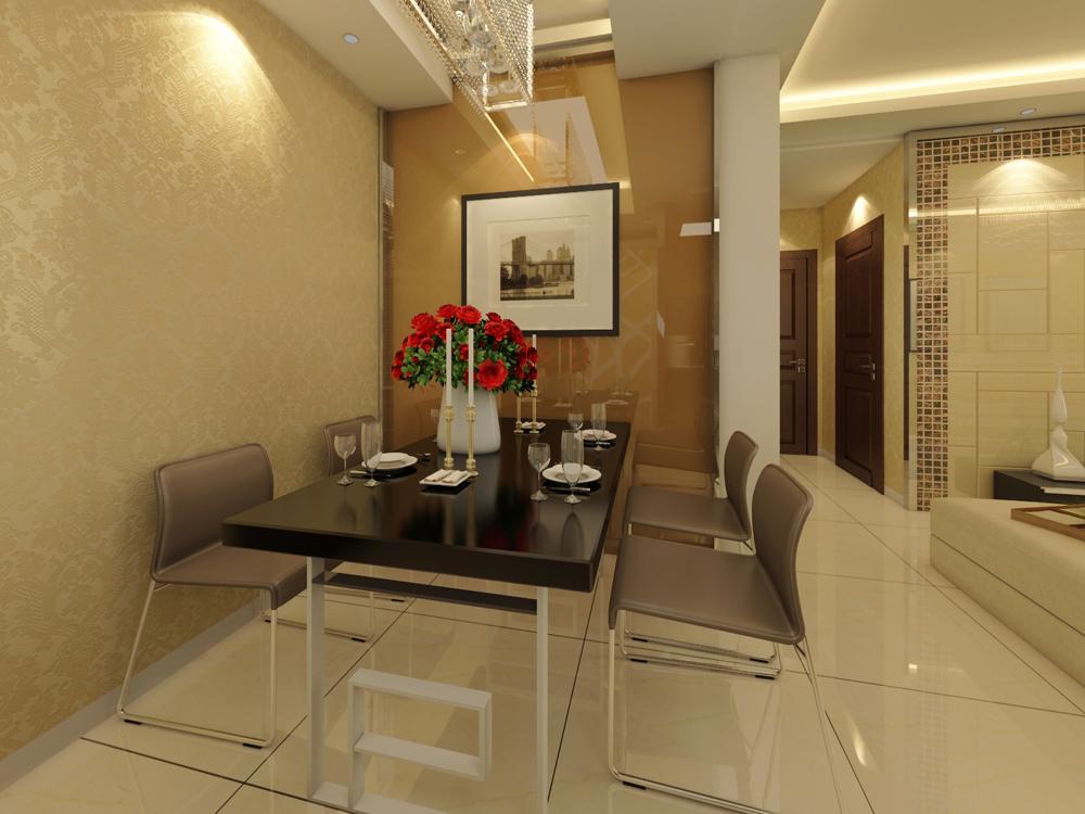 和平时光 业之峰 现代简约 餐厅图片来自业之峰装饰李鑫在和平时光90平米现代风格的分享