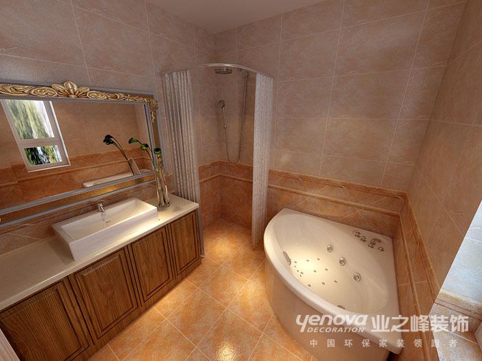 武汉业之峰 新房装修 卫生间图片来自猫咪爱吃鱼在美式田园——舒适,自然格调的分享