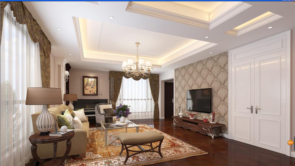 混搭 别墅 收纳 小资 奥邦装饰 客厅图片来自上海奥邦装饰在浦江华侨城叠加别墅现代混搭风的分享
