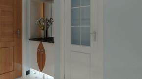 简约 中式 舒适 北京装修 北京设计 玄关图片来自高度国际装饰韩冰在首开熙悦山85㎡简约中式效果的分享