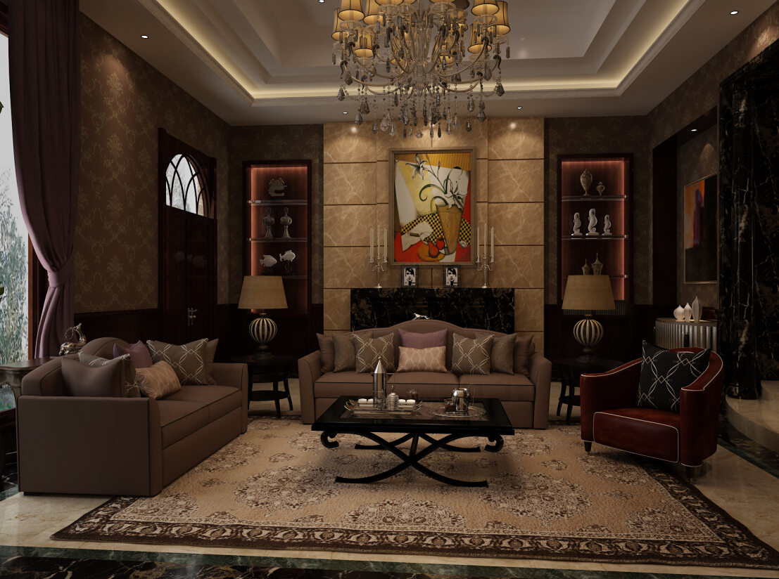 混搭 现代 新规现代 别墅 客厅 客厅图片来自尚层别墅设计在京基鹭府别墅装修不一样的现代风的分享