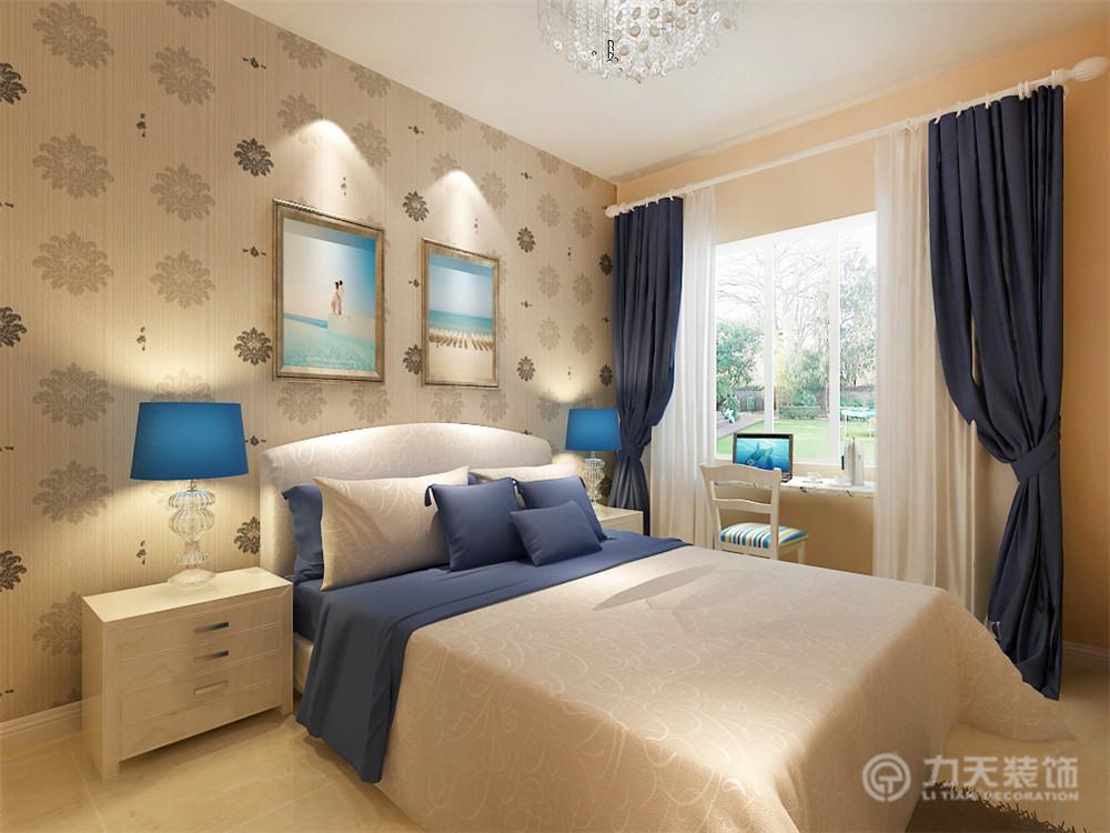 简约 三居 白领 收纳 80后 小资 卧室图片来自阳光力天装饰梦想家更爱家在京东里领袖城3室2厅2卫130㎡中式的分享