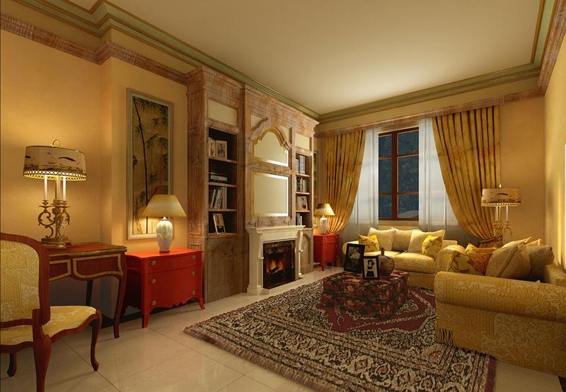 欧式 淡雅 泰禾红御 80后 卧室图片来自尚层装饰-杨在淡雅中的经典泰禾红御的分享