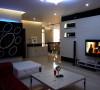 名雕装饰设计—枫丹白露现代三居室-客厅