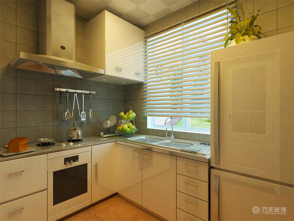 现代 三居 白领 收纳 80后 小资 厨房图片来自阳光放扉er在华城丽苑-106㎡-现代风格的分享