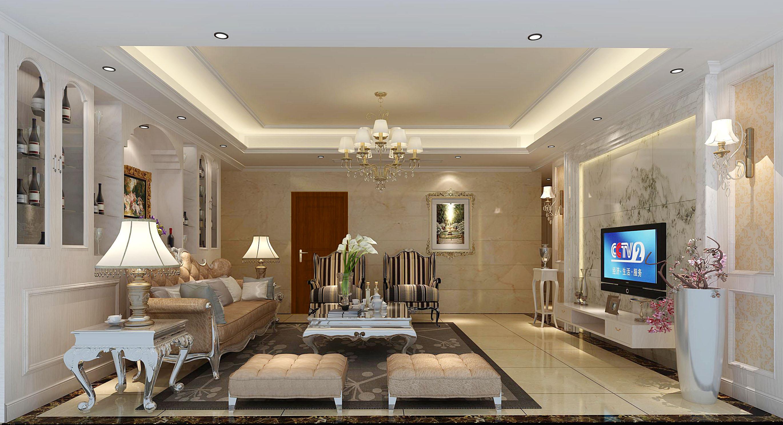 客厅图片来自深圳市浩天装饰在深业花园的分享