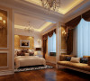 首先整合空间把儿卧做成套房,书房、休闲会友功能齐全,不仅彰显大气华贵,使用上也更加从容优雅。