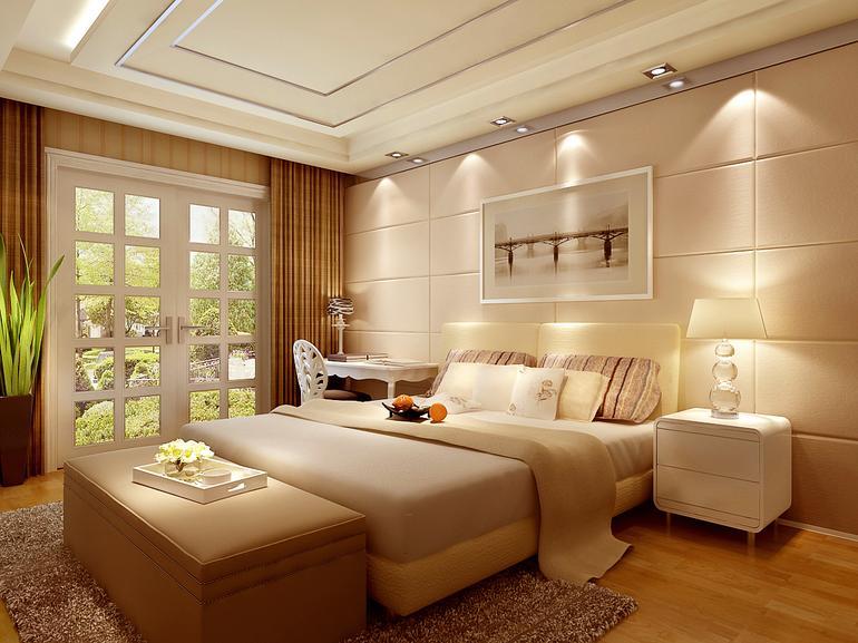 欧式 二居 卧室图片来自亚光亚神设手富成在欧式风格装修美图让您爱不释手的分享