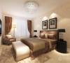 搭配上暖黄色的灯光,让人感觉到温馨整体打造了一个让人舒适的休息空间。