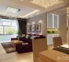 整个家居空间色调呈暖色,温馨又富有现代感,而且雅致优美。卧室偏于清新自然、随意轻松的感觉,摒弃了繁缛豪华的装饰,在软装上搭配得当,是一种自然简约的私密空间。