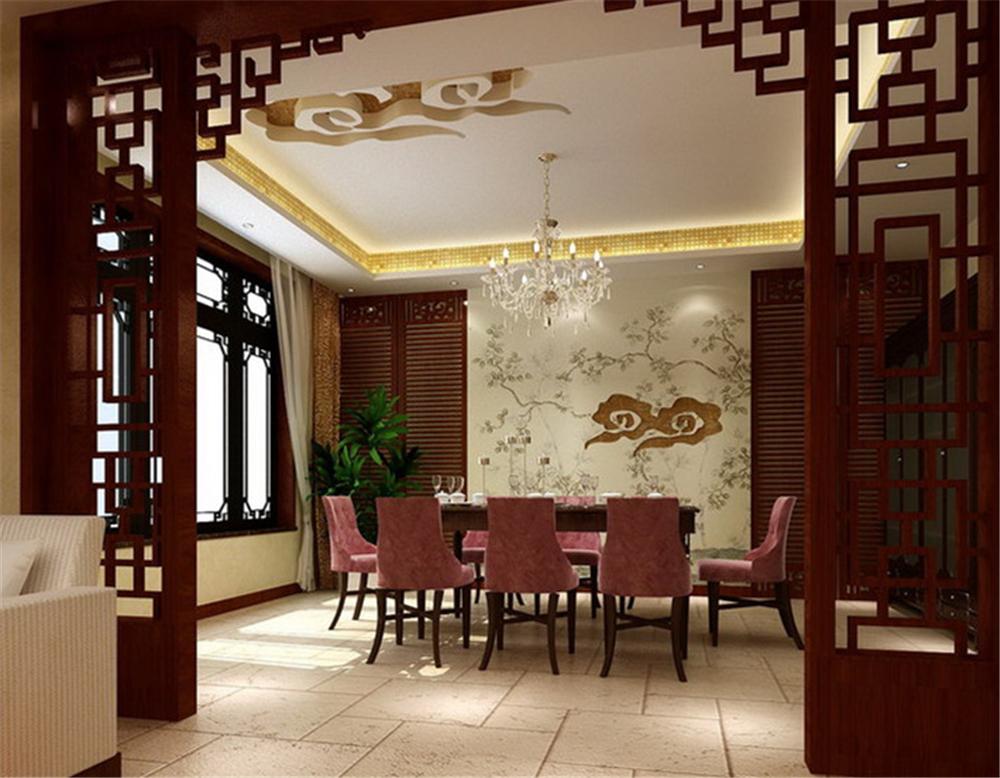 别墅 白领 收纳 小资 餐厅图片来自实创装饰完美家装在龙山新新小镇中式清韵中国风的分享