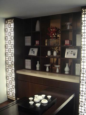 传统 书房图片来自博览天下在神仙树大院-90平米中式风格的分享