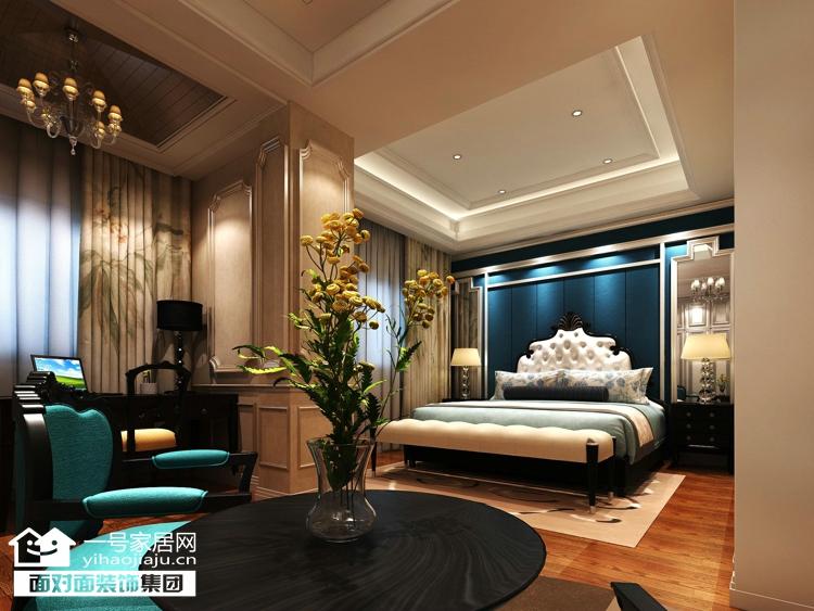 一号家居 欧式 质感 富内涵 卧室图片来自武汉一号家居在徐东嘉园  欧式主题生活的分享