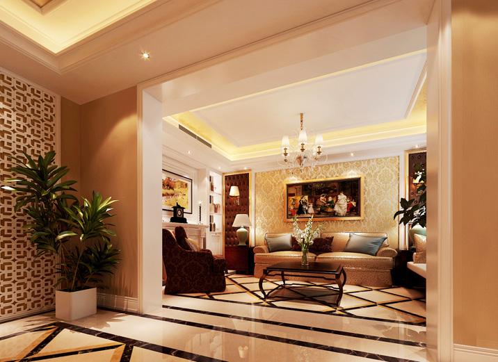 欧式 三居 收纳 奢华 大气 舒适 温馨 其他图片来自武汉实创装饰在演绎法式浪漫,将凡尔赛宫搬回家的分享