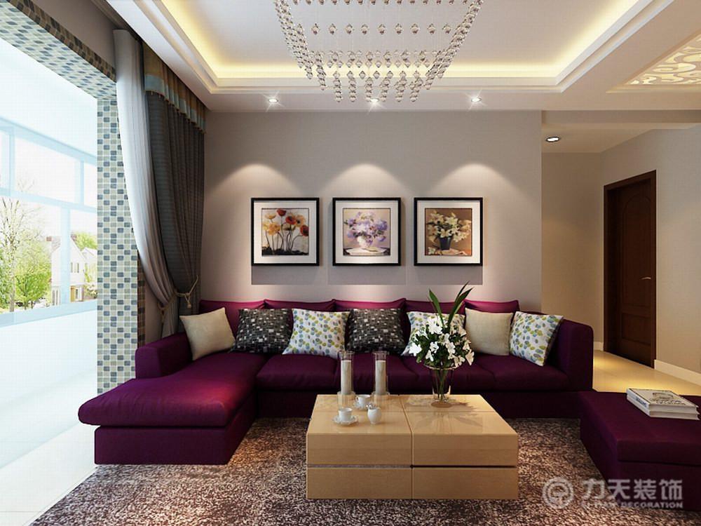 简约 二居 收纳 白领 80后 小资 客厅图片来自阳光力天装饰梦想家更爱家在渌水道2室2厅90㎡现代简约的分享