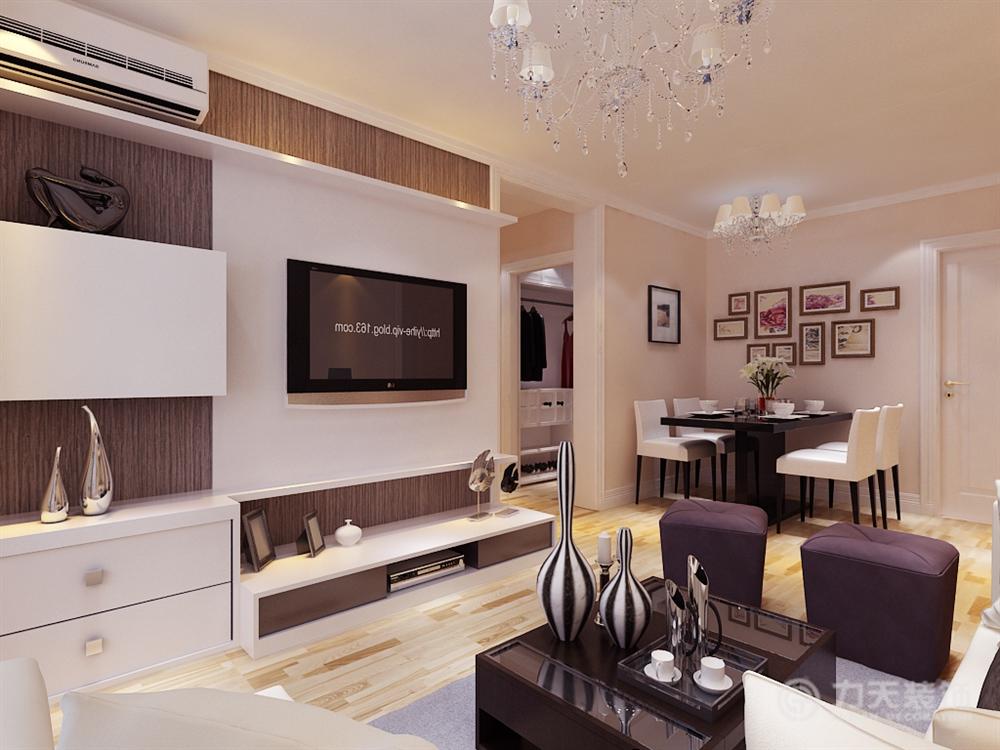 简约 三居 白领 收纳 80后 小资 客厅图片来自阳光力天装饰梦想家更爱家在北宁湾3室2厅91平设计方案的分享