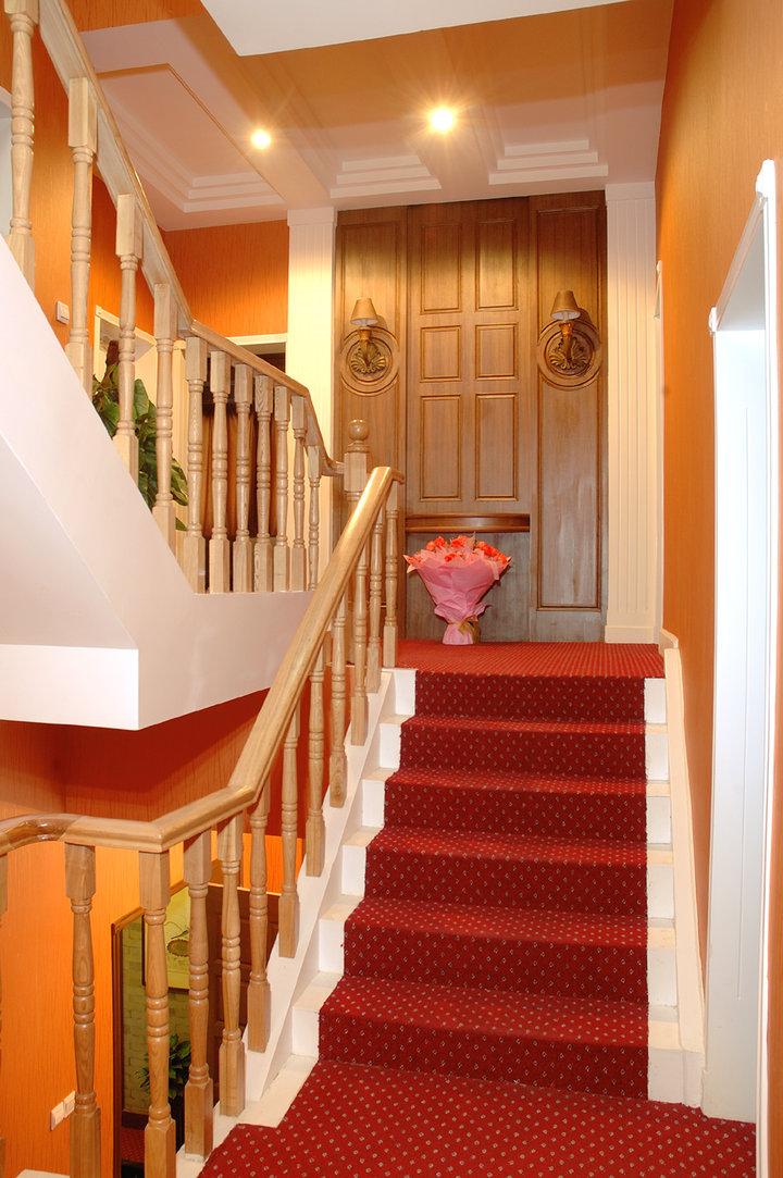 简约 中式 别墅 今朝装饰 楼梯图片来自今朝装饰小郭在别墅中式风格的分享