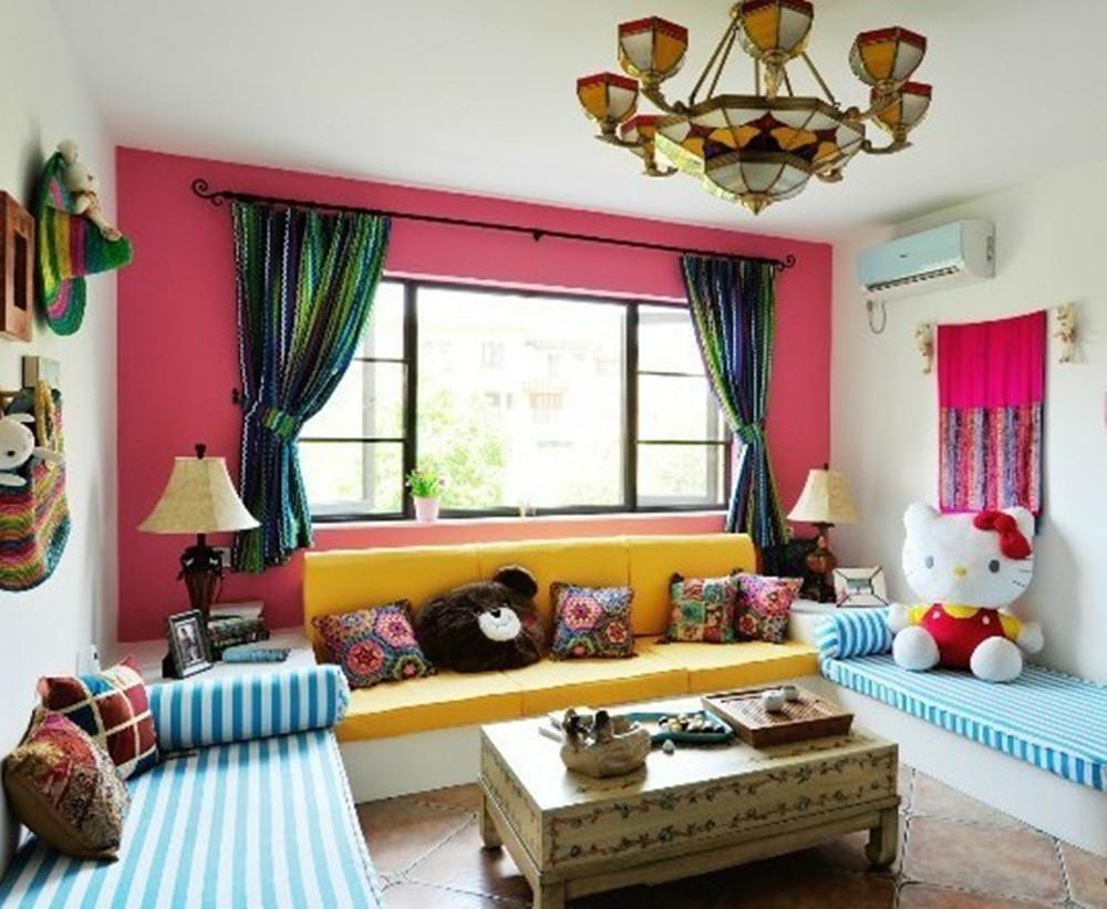 客厅图片来自今朝装饰小闫在富有卡通的地中海风格的分享