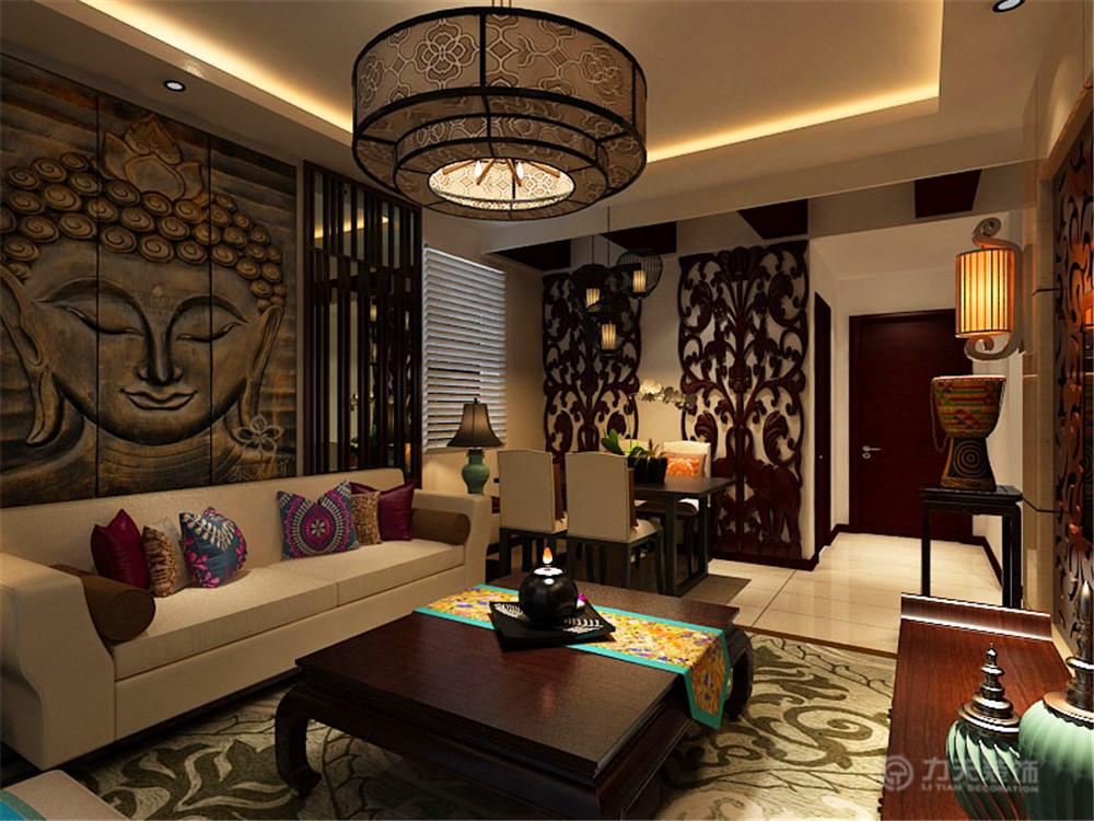 二居 白领 收纳 80后 小资 中式 客厅图片来自阳光力天装饰梦想家更爱家在弘泽城2室2厅87.79㎡新中式的分享