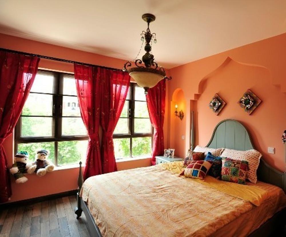 卧室图片来自今朝装饰小闫在富有卡通的地中海风格的分享
