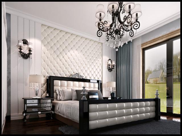 欧式 三居 80后 卧室图片来自呼市装修公司城市人家在欧式风格的分享