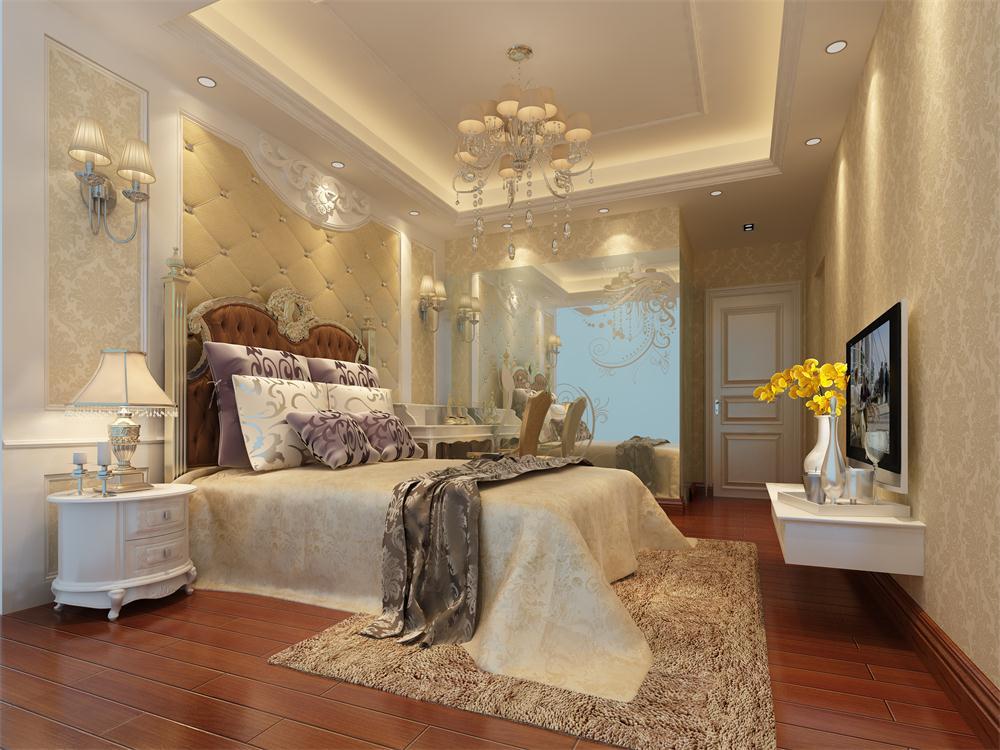 卧室图片来自深圳市浩天装饰在港湾丽都的分享