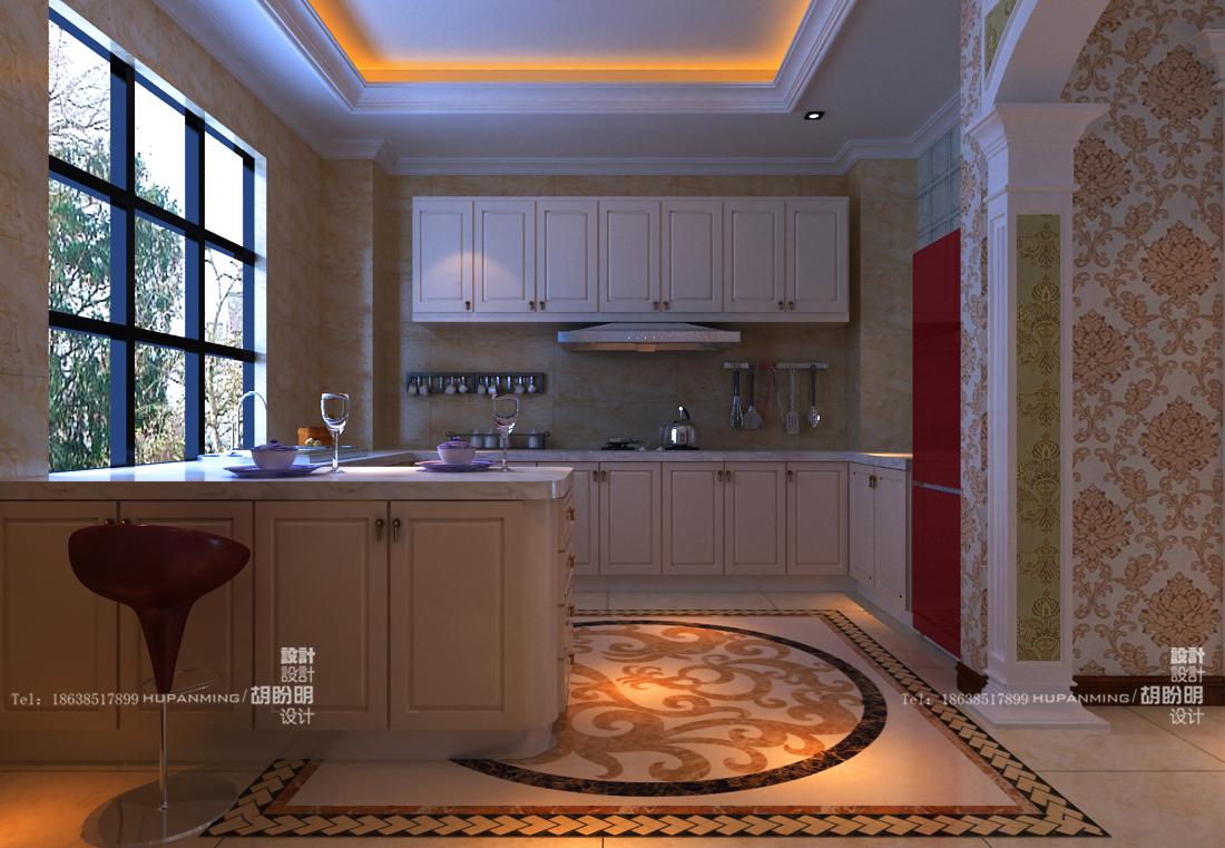 清水苑 复式 欧式 业之峰装饰 效果图 厨房图片来自文金春在清水苑装修效果图高贵典范的分享