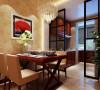 简洁干净有品味 设计理念:原户型中并没有餐厅的空间功能,设计师根据业主的人均分配将厨房的一部分让出做为餐厅,把厨房阳台做为餐厅的延伸,使厨房的利用率提升。