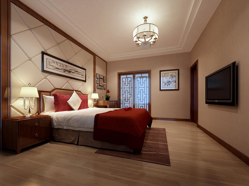卧室图片来自深圳市浩天装饰在依仙居的分享