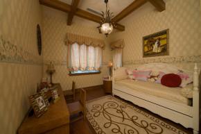 美式 别墅 舒适 大气 奢华 儿童房图片来自武汉实创装饰在玉龙岛美式乡村别墅的分享