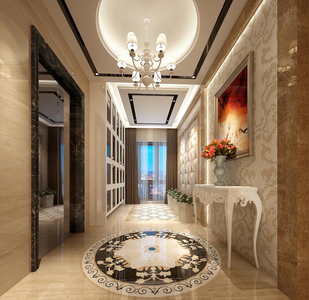 玄关图片来自深圳市浩天装饰在世豪大厦的分享