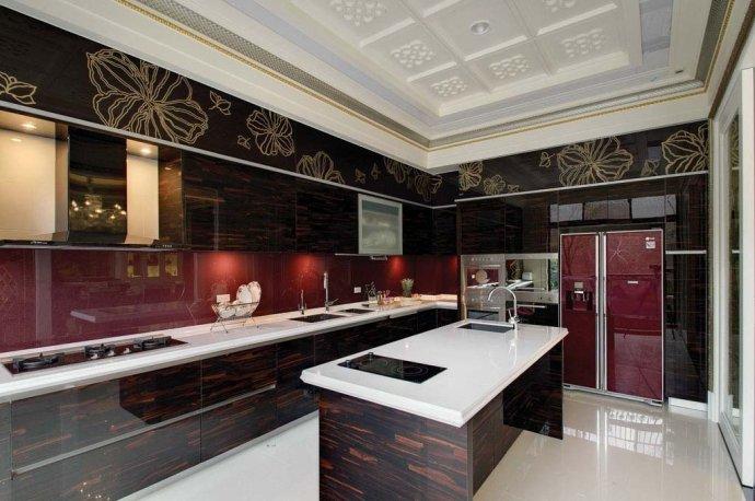 欧式 别墅 复式 收纳 高雅 厨房图片来自武汉实创装饰在220平米简欧装修,展现品质生活的分享
