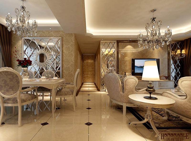 简约 欧式 三居 白领 实创装饰 玄关图片来自武汉实创装饰在融科天城简欧风格的分享