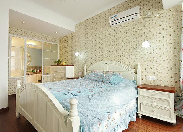 田园 美式 实创装饰 三居 复式 收纳 卧室图片来自武汉实创装饰在打造上城明珠美式田园的分享