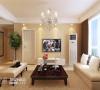 电视背景墙:由于房屋结构的设计所以电视墙显的有点小,但是简约的设计恰好把空间利用起来,使电视墙显得大气时尚。