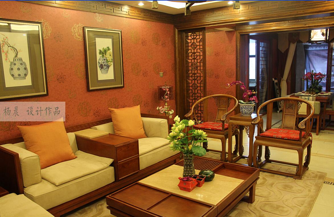客厅图片来自ypdesigner888在神韵中国风的分享