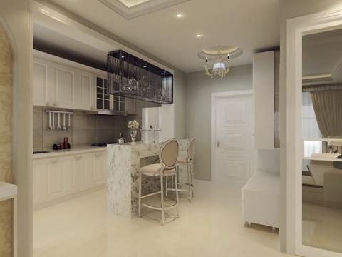 简约 二居 白领 80后 小资 厨房图片来自沈阳林凤装饰装修公司在中海明珠91㎡现代简约的分享
