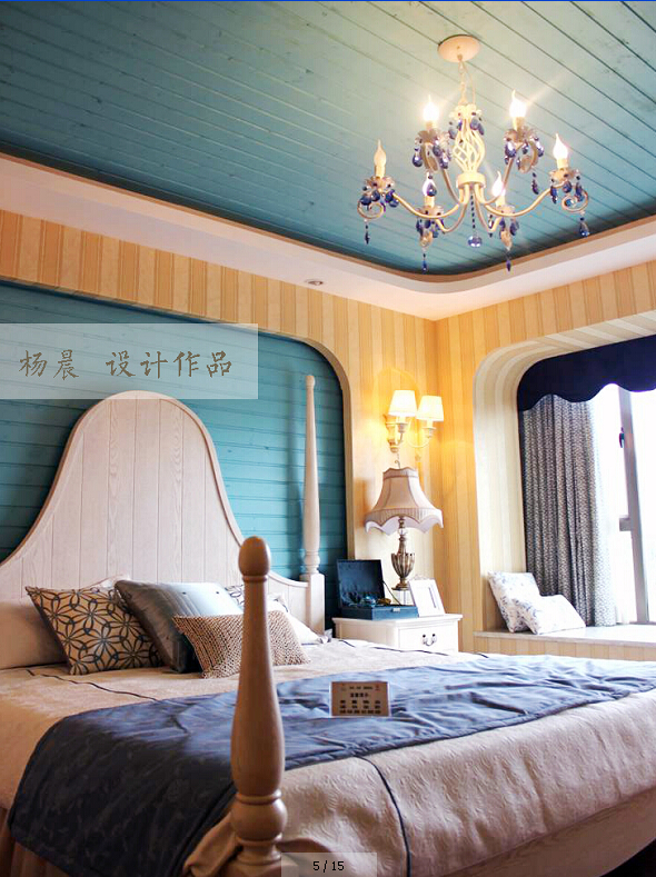 卧室图片来自ypdesigner888在醉爱地中海的分享