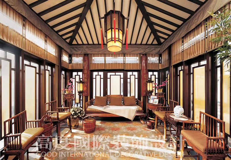 北京装修 北京设计 别墅设计 别墅装修图片来自高度国际装饰韩冰在观唐2的分享