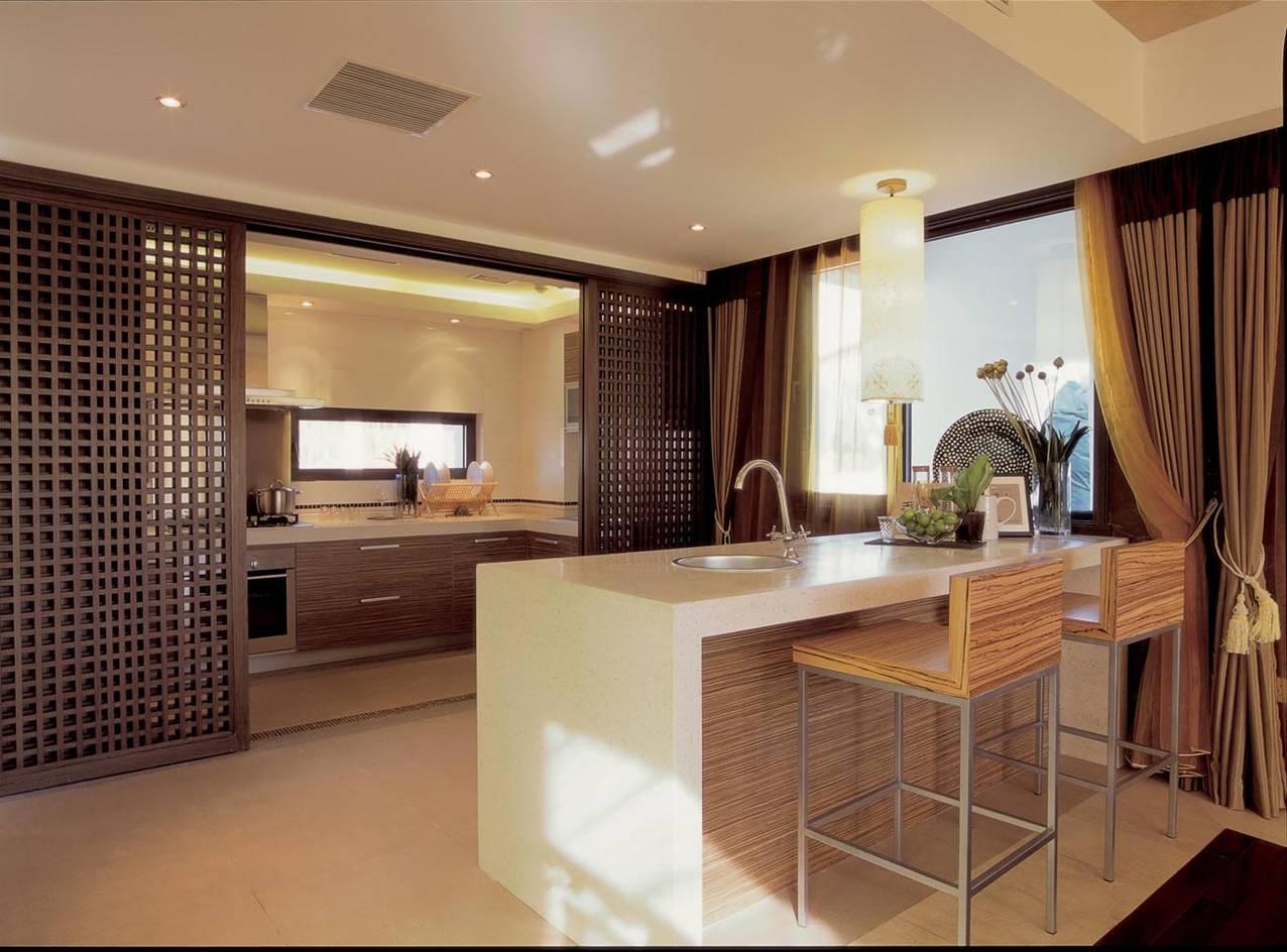厨房图片来自轻舟装饰-90后的华仔在红木林-109平米-现代风格的分享